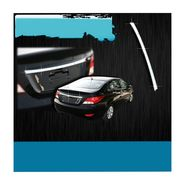 Hyundai Verna Fluidic Rear Garnish Chrome