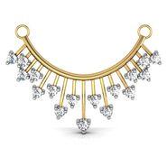 Avsar Real Gold & Swarovski Stone Panaji Mangalsutra_Avm013yb