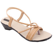 Azores Womens Cream Sandals -Azf_Wc