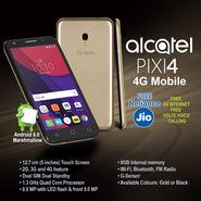 Alcatel PIXI4 4G Mobile