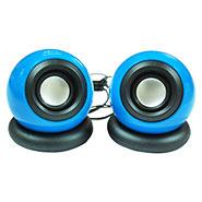 Ambrane SP-20 Portable USB Speaker - Blue & Black