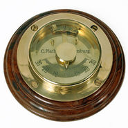 Antique Pure Brass Nautical Ship Balance Meter 237