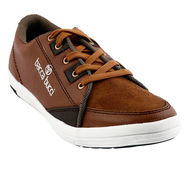 Bacca Bucci PU & suede  Casual Shoes  Bbmb3090C -Brown