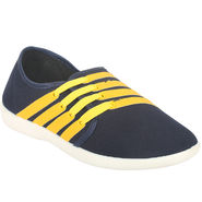 Bacca Bucci Canvas Yellow Casual Shoes -Bbmb3134L