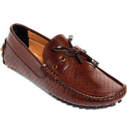 Bacca Bucci Synthetic Leather Brown Loafer -bbn14
