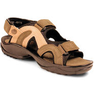 Bacca Bucci Suede Leather Olive Sandals -Bbme6033G