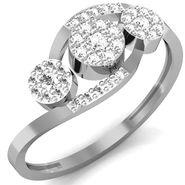 Avsar Real Gold & Swarovski Stone Chetana Ring_B049wb