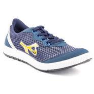 Kohinoor Footwears Suede leather Casual Shoes BT083_Blue
