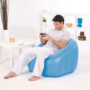 Bestway Comfort Quest Inflatable Comfi Cube Chair - Blue