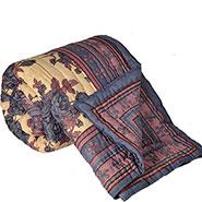 Little India Designer Printed Jaipuri Coton Double Bed AC Quilt - Multicolor- DLI3DRZ324