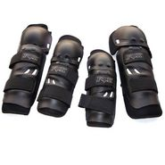 Branded Elbow Armour for Bike Riding - Black