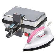 Combo Of Sandwich Maker + Light Weight Electric Iron