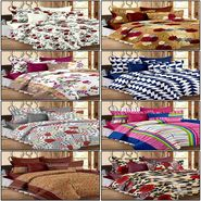 Set of 8 100% Cotton Double Bedsheet With 16 Pillow Cover - CN_12-03-33-56-61-64-68-1402-1407