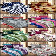 Set of 8 100% Cotton Double Bedsheet With 16 Pillow Cover - CN_1203-31-37-53-56-64-68-1402