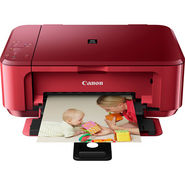 Canon PIXMA MG3570 Multifunction Inkjet Printer (Red )