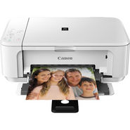 Canon PIXMA MG3570 Multifunction Inkjet Printer (White)