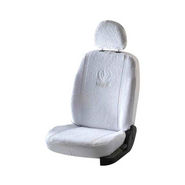 Car Towel Seat Covers for Honda City - White
