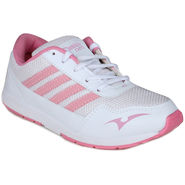 Branded Sports Shoes Art111  -White & Pink