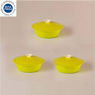 Set of 3 Cutting Edge Daffodil Cook N Serve - Light Green