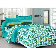 Valtellina 100% Cotton Double Bedsheet with 2 Pillow Cover-213-a