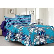 Valtellina 100% Cotton Double Bedsheet with 2 Pillow Cover-6010-B