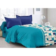 Valtellina 100% Cotton Double Bedsheet with 2 Pillow Cover-3022-A