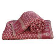 Set of 2 Jaipuri Print Cotton Double Bed Razai Quilt-DLI4DRZ3382