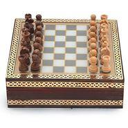 Little India Handmade Rajasthani Gemstone Chessboard Game -210