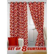 Set of 8 Printed Door curtain-7 feet-DNR_4_2023
