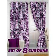 Set of 8 Printed Door curtain-7 feet-DNR_4_2078