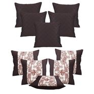 Dekor World Set of 10 Designer Printed Cushion Cover-DWCB-12-179