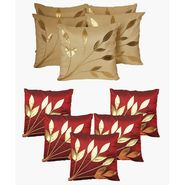 Dekor World Ultima Floral Combo. Cushion Cover(Pack of 10 Pcs)-DWCB-150