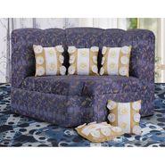 Dekor World 9 Flower Tissue Cushion Cover (Pack of 5)-DWCC-12-125-5