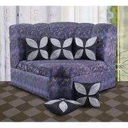 Dekor World Leaf Pattern Cushions Cover (Pack of 5)-DWCC-12-139-5