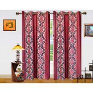 Dekor World Signature Window Curtain-Set of 2 -DWCT-769-5
