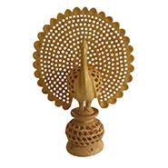 eCraftIndia Dancing Peacock - Brown