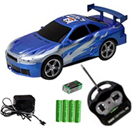 Rechargeable Wireless 6-Way RC Car
