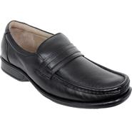 Delize Leather Formal Shoes - Black-2834