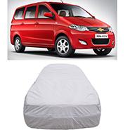 Digitru Car Body Cover for Chevrolet Enjoy - Silver