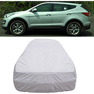 Digitru Car Body Cover for Hyundai SantaFe - Silver