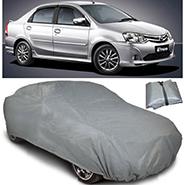 Digitru Car Body Cover for Toyota Etios - Dark Grey