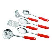 Elegante 6 pc Kitchen Tool Set with Plastic Handle