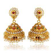 Branded Gold Plated Artificial Earrings_Er30006g