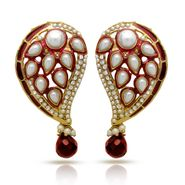 Branded Gold Plated Artificial Earrings_Er30036gred