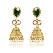 Branded Gold Plated Artificial Earrings_Er30051g