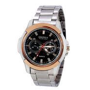 Exotica Fashions Dual-Tone Wrist Watch - Black