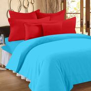 Storyathome 100% Cotton Double Bedsheet With 2 Pillow Cover-FS1209
