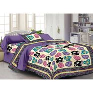 Storyathome 100% Cotton Single Bedsheet with 1 Pillow Cover-FY1131