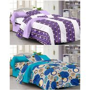 Set Of 2 Single Bedsheet With 2 Pillow Cover -1223-FY1105