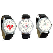 Pack of 3 Gledati Round Dial Men Watches_Gl134